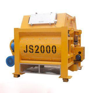 JS2000强制搅拌机由那几部分组成及工作原理介绍