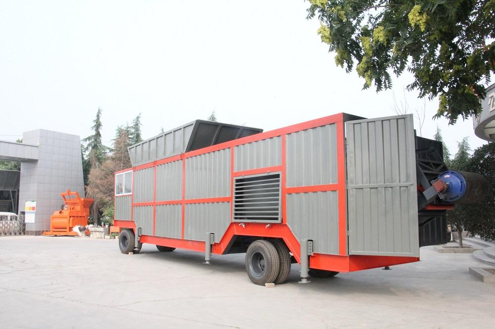 河南许昌客户定制新型移动300型水稳站
