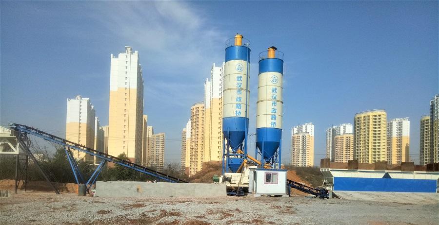 湖北武汉WBZ700吨水稳站市政路桥专项目