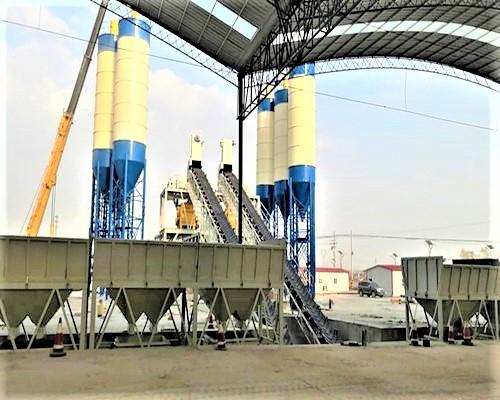 四川成都2HZS180搅拌站第二绕城高速专项目
