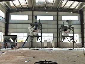 河北唐山双行星式搅拌站用于PC生产线制造