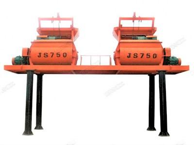 连体JS750混凝土搅拌机