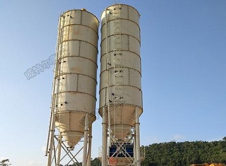 150吨片式水泥仓